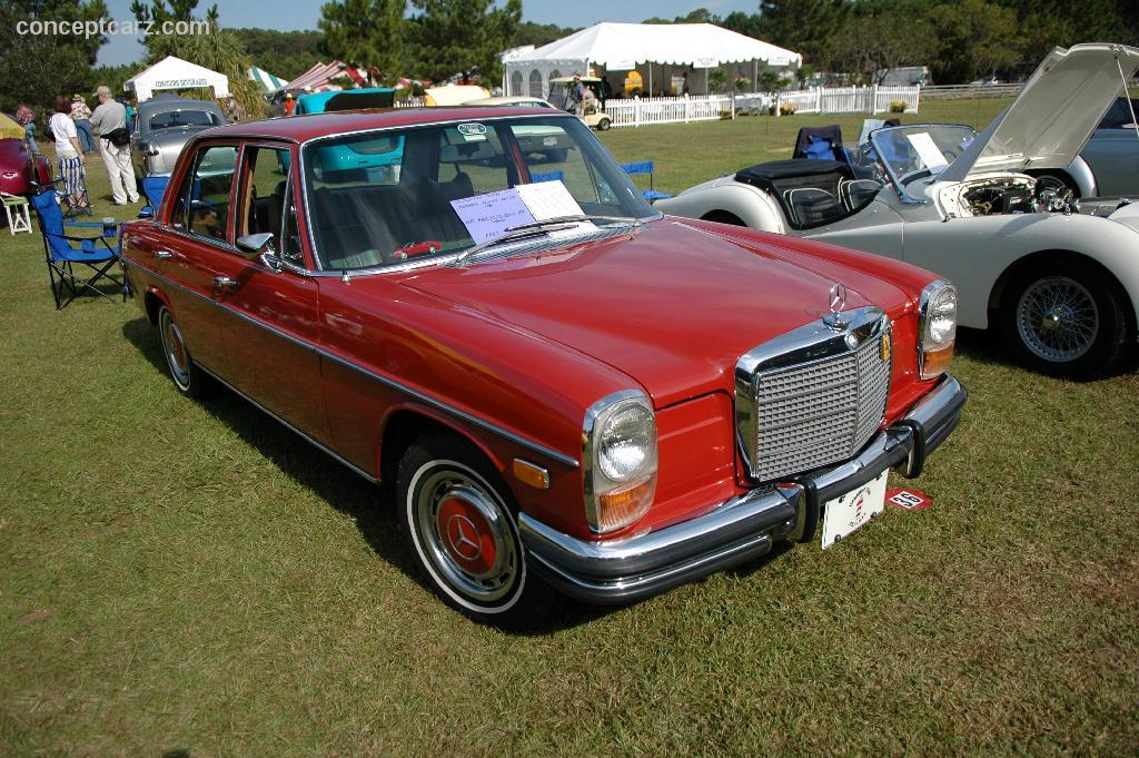 1972 Mercedes Benz 250 Pictures History Value Research