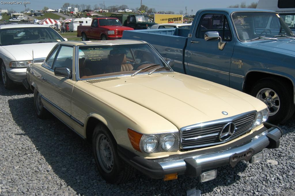 1976 mercedes benz 450 sl technical specifications and for Mercedes benz 450
