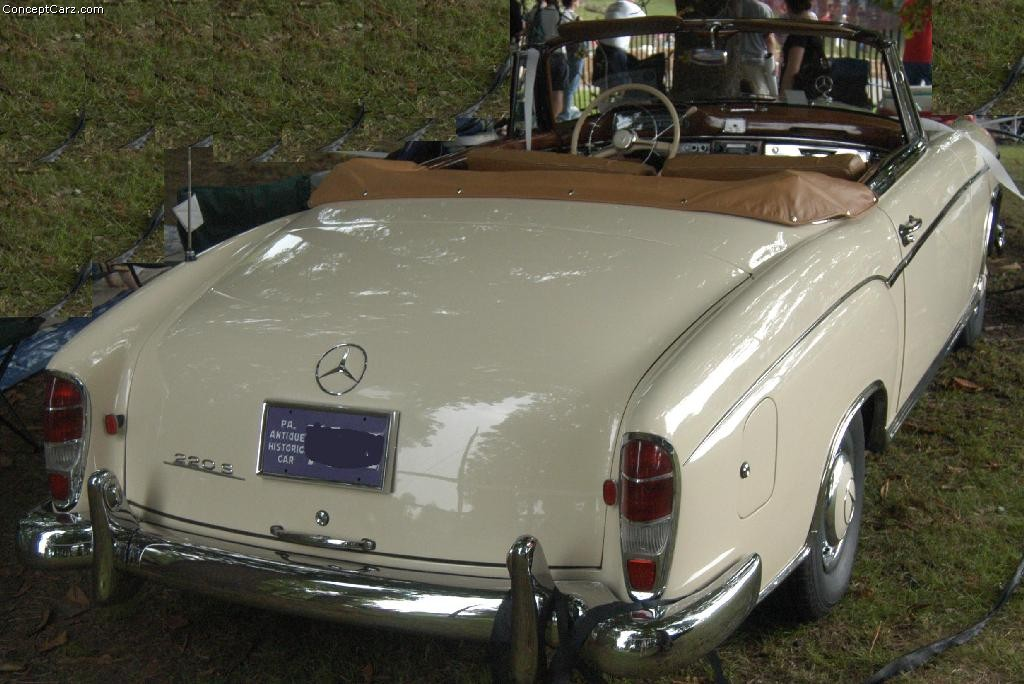 1958 mercedes benz 220s at the pittsburgh vintage grand prix for Pittsburgh mercedes benz