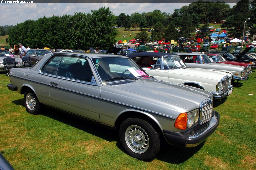 1980 mercedes benz 280ce pictures history value for Mercedes benz 1980