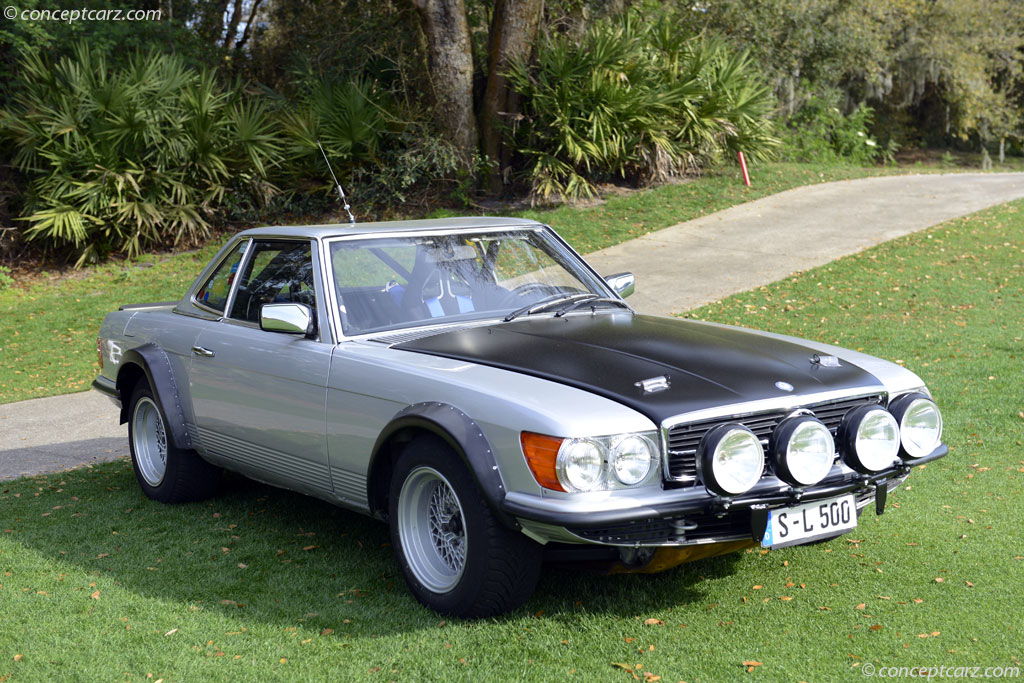 1980 mercedes benz 500 sl for Rally mercedes benz