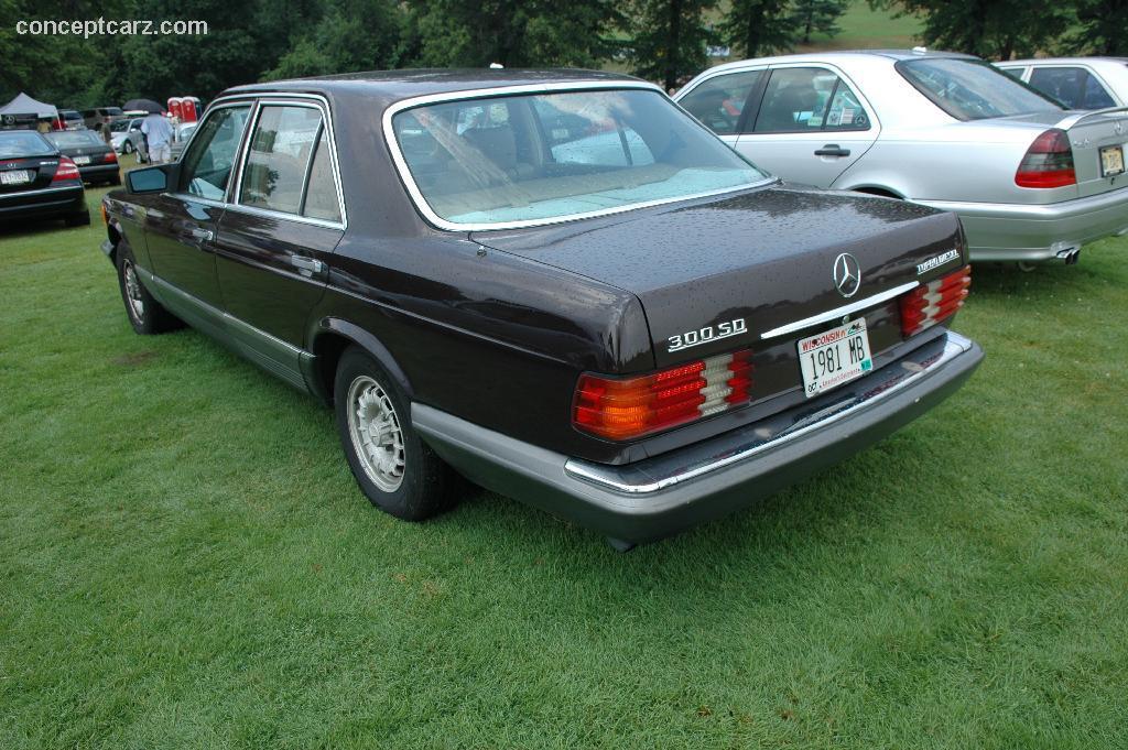 1981 mercedes benz 300 sd image for Mercedes benz sd