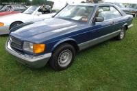 1985 Mercedes-Benz 500 SEC image.