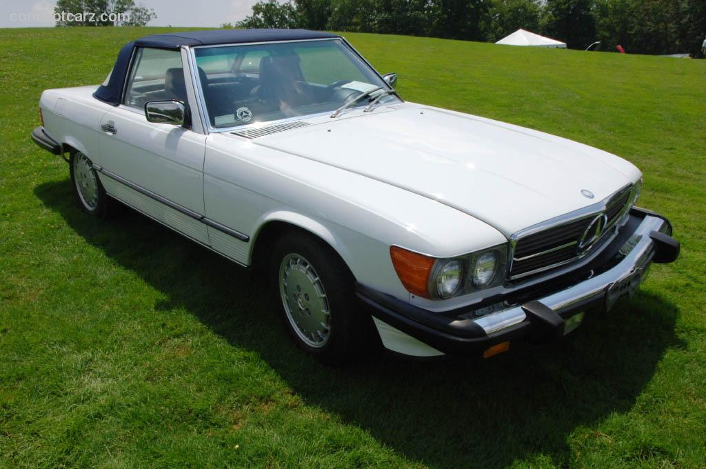 1988 mercedes benz 560 sl technical specifications and for Mercedes benz engines specifications