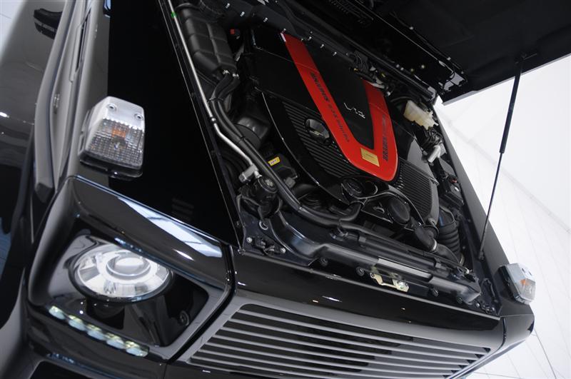 2009 Brabus G V12 S Biturbo