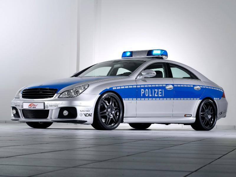 2006 Brabus Rocket Police Car Image