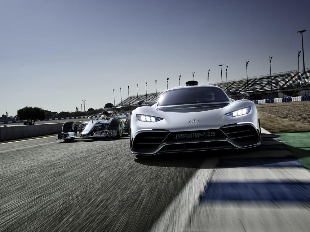 Mercedes-Benz Project ONE pictures and wallpaper