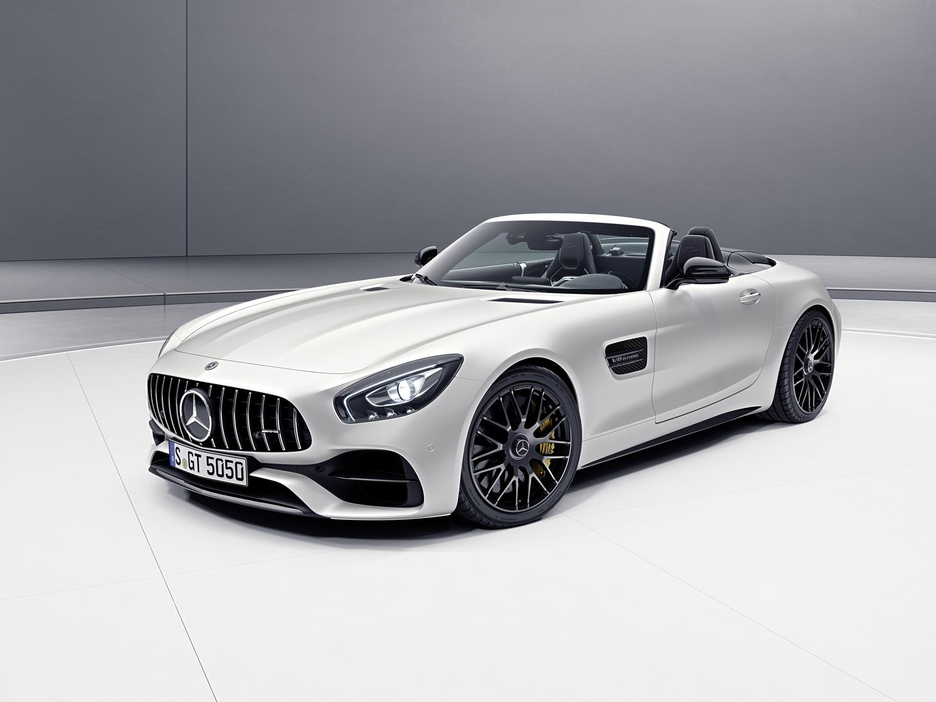 2017 mercedes benz amg gt c roadster edition 50 for Mercedes benz e amg