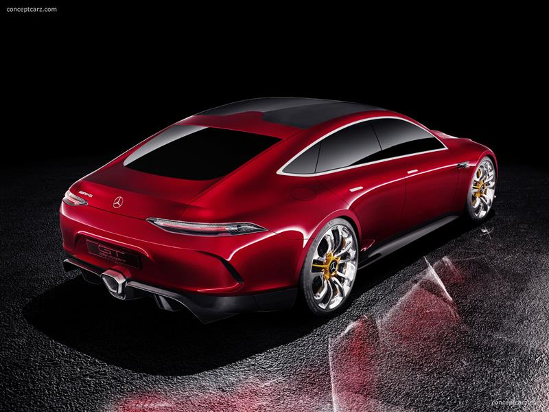 2017 Mercedes-Benz AMG GT Concept Image
