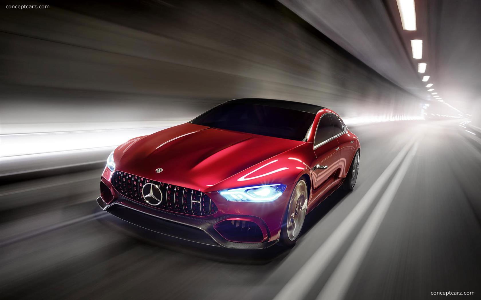 2017 Mercedes-Benz AMG GT Concept