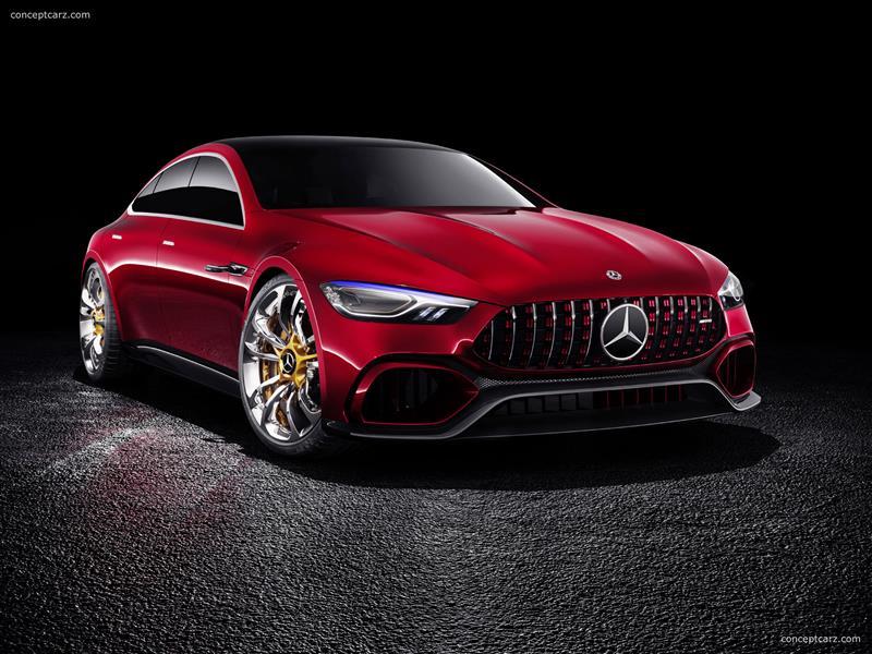 2017 Mercedes-Benz AMG GT Concept Image