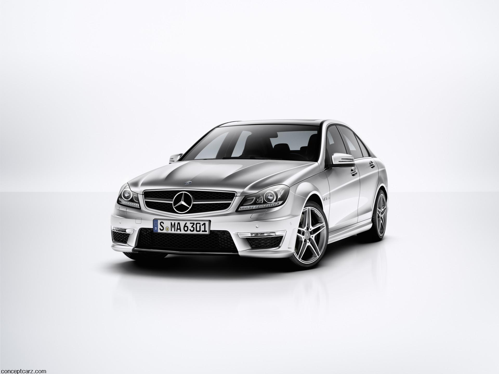 2012 Mercedes-Benz C63 AMG Image