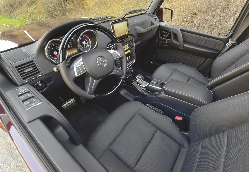 the external modifications - Mercedes G Interior 2015