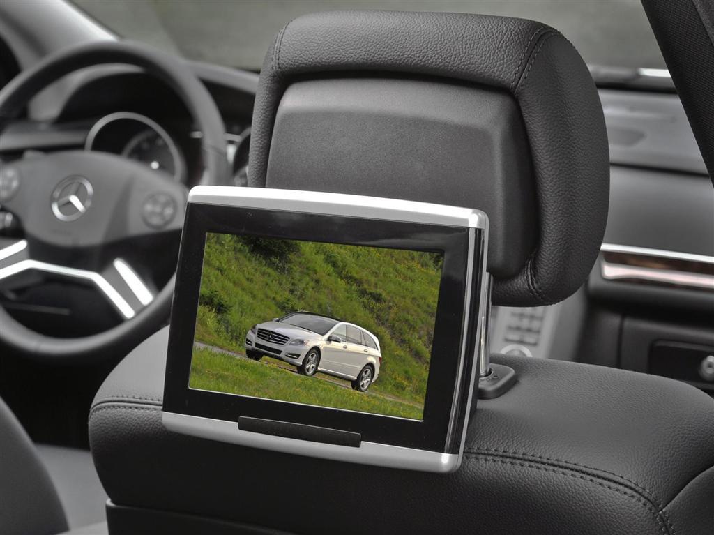 2012 mercedes benz r class for Mercedes benz rear seat entertainment system