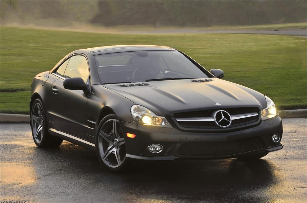2011 mercedes benz sl550 night edition for Mercedes benz sl550