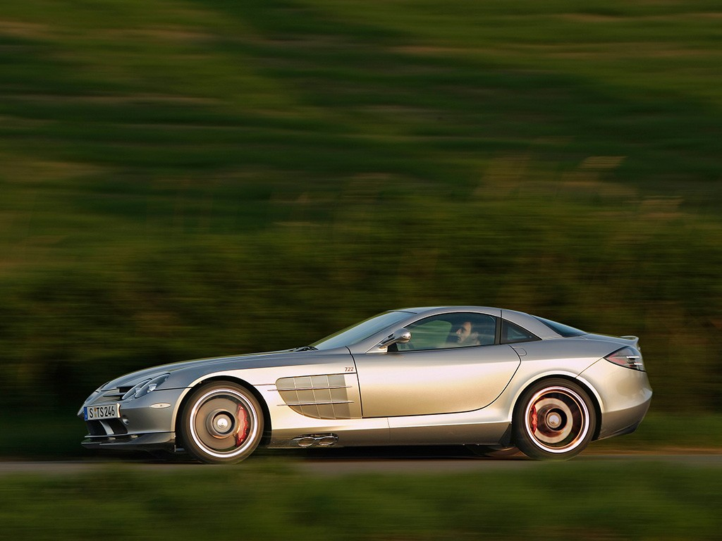 2006 mclaren slr 722 edition for Mercedes benz slr