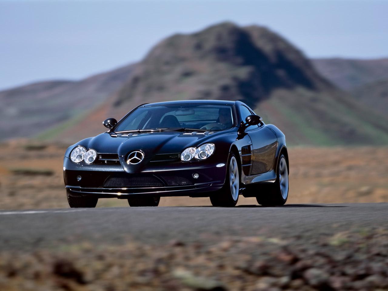 Mercedes SLR  № 1374390 без смс