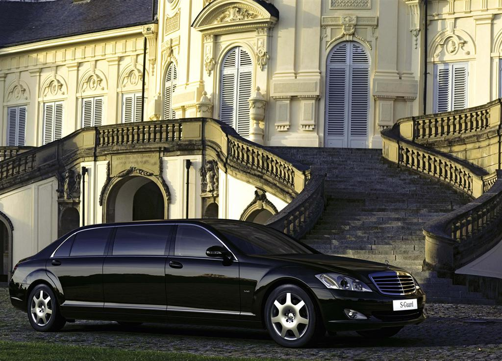 2008 mercedes benz s 600 guard pullman for Mercedes benz pullman