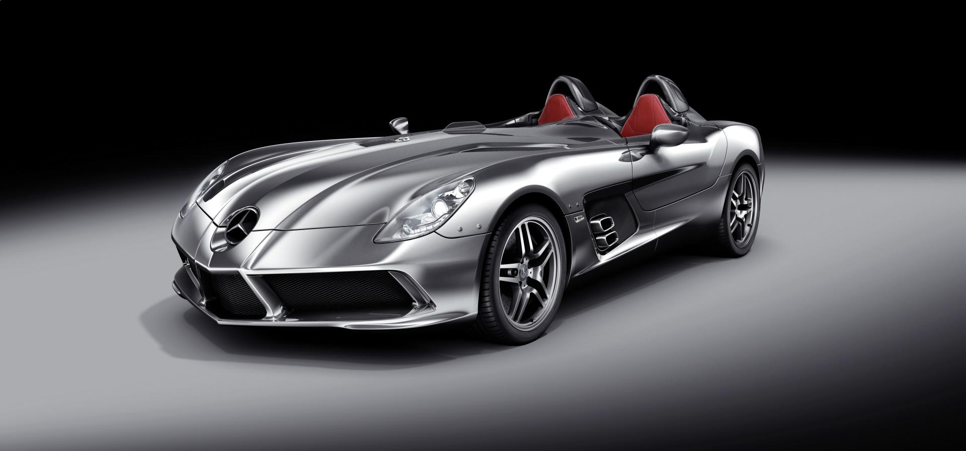 2009 Mercedes Benz Slr Stirling Moss Conceptcarz Com
