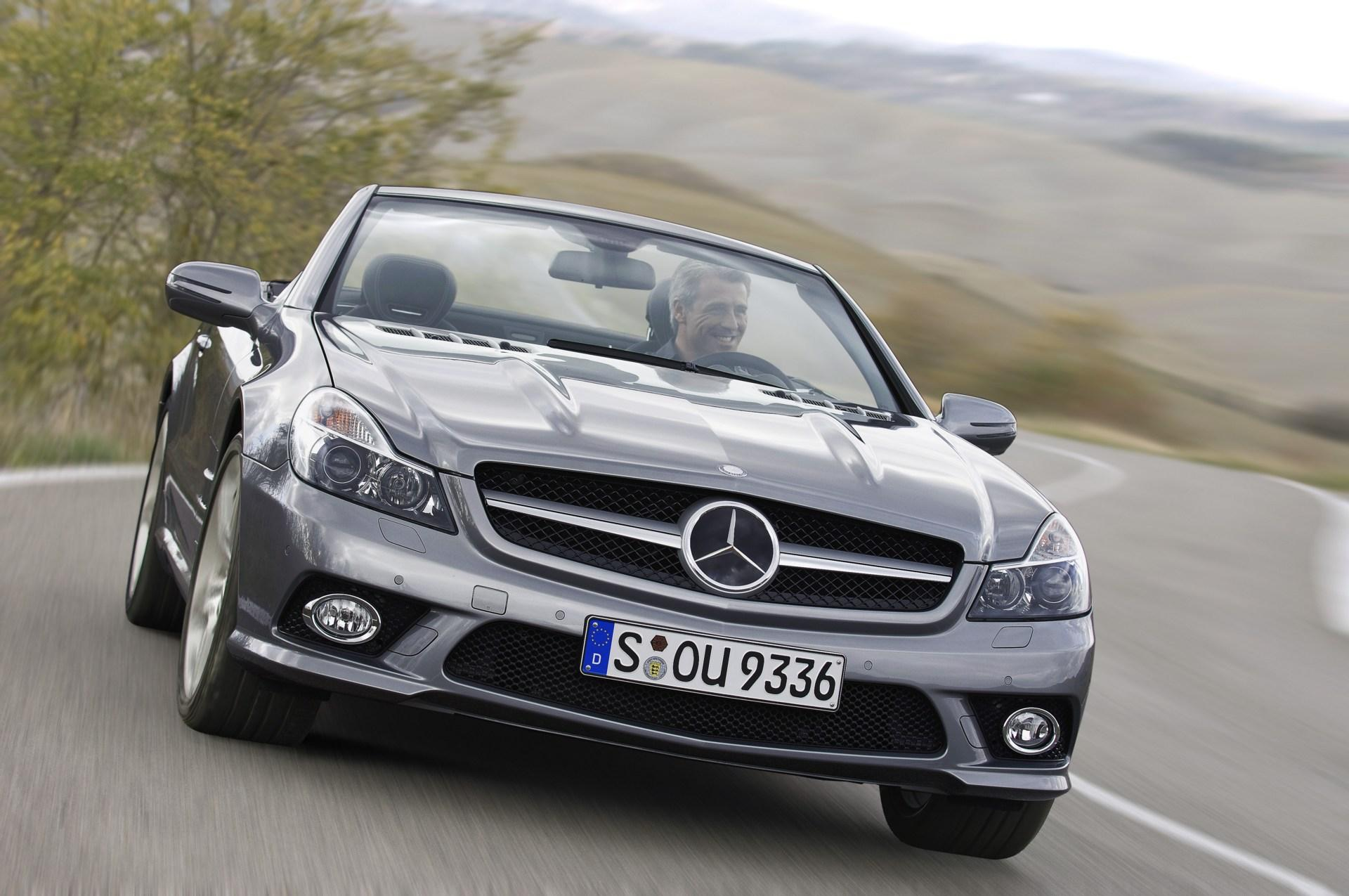 Image gallery 2009 mercedes sl500 for 2009 mercedes benz sl550 silver arrow for sale