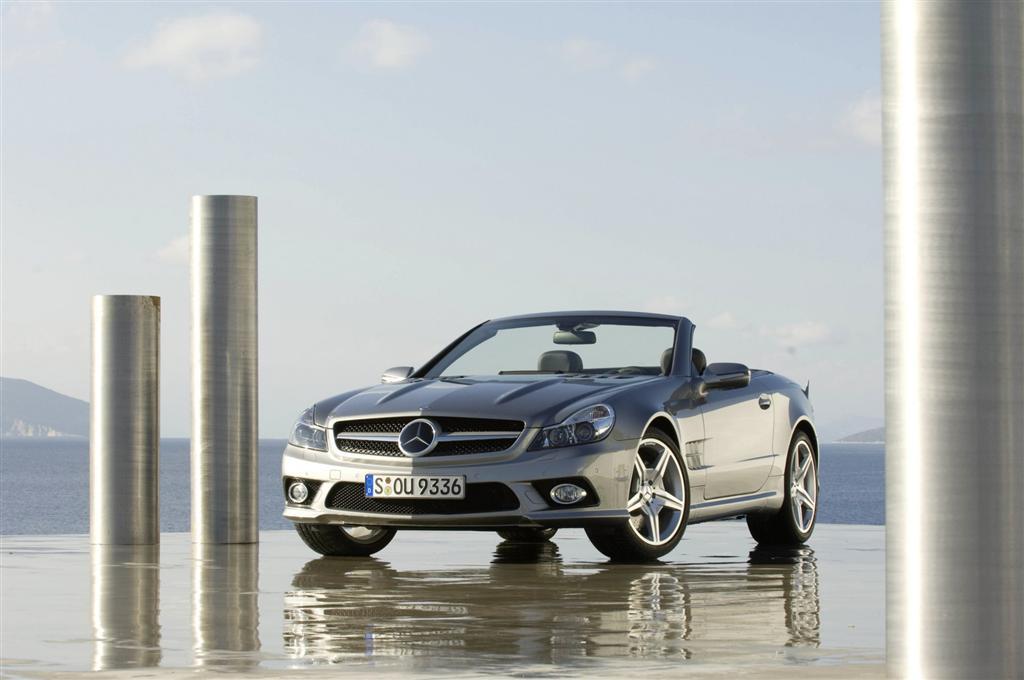 2009 mercedes benz sl 600 for Mercedes benz latest technology