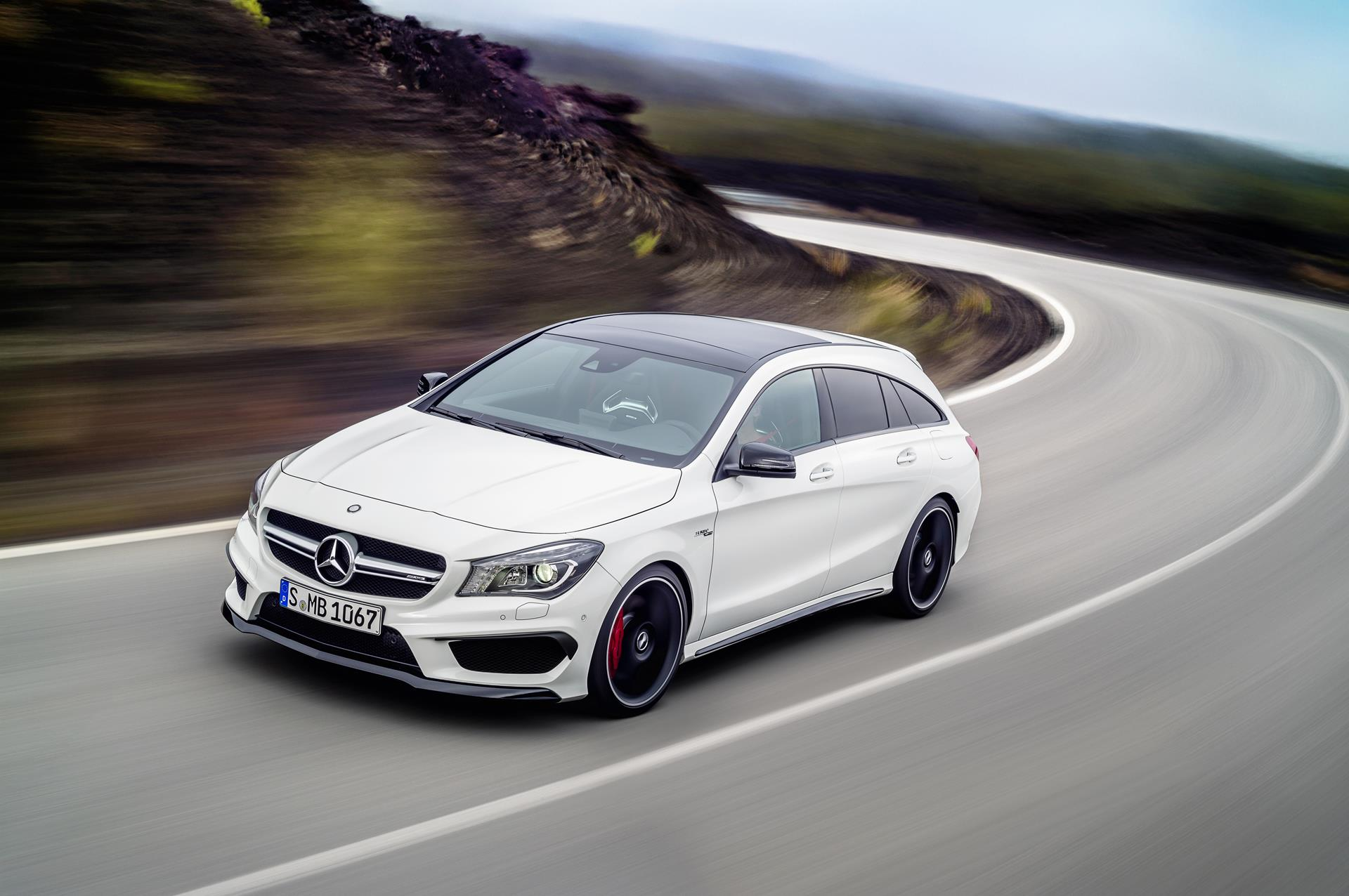 2015 mercedes benz cla 45 amg shooting brake wallpaper. Black Bedroom Furniture Sets. Home Design Ideas
