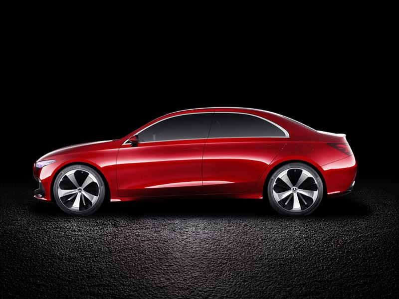 2017 Mercedes-Benz Concept A Sedan Image