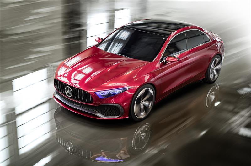 2017 Mercedes-Benz Concept A Sedan Image