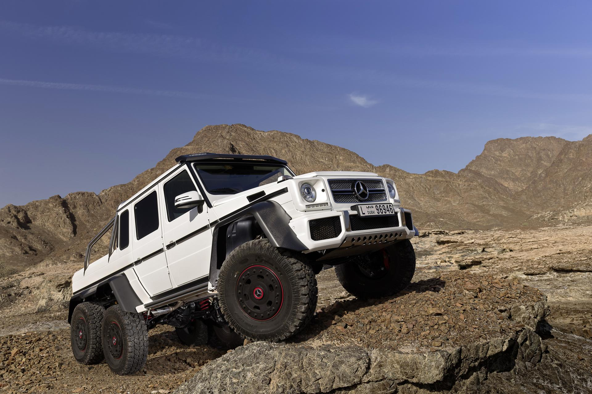 2013 mercedes benz g63 amg 6x6 concept wallpaper
