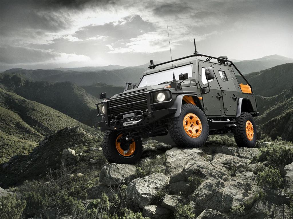 2010 mercedes benz g wagon lapv 6 x concept for Mercedes benz utility vehicle