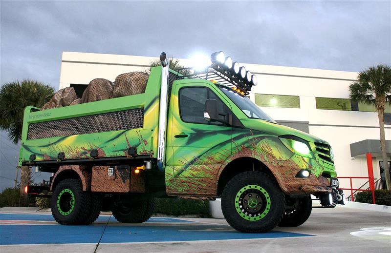 2016 Mercedes-Benz Sprinter Extreme Concept pictures and wallpaper