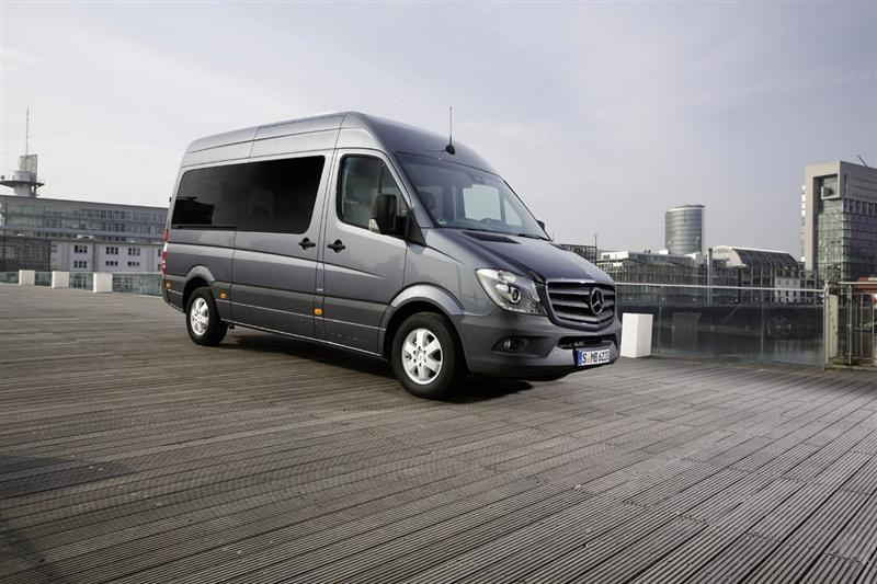 2014 mercedes benz sprinter caravan concept images photo for Mercedes benz caravan