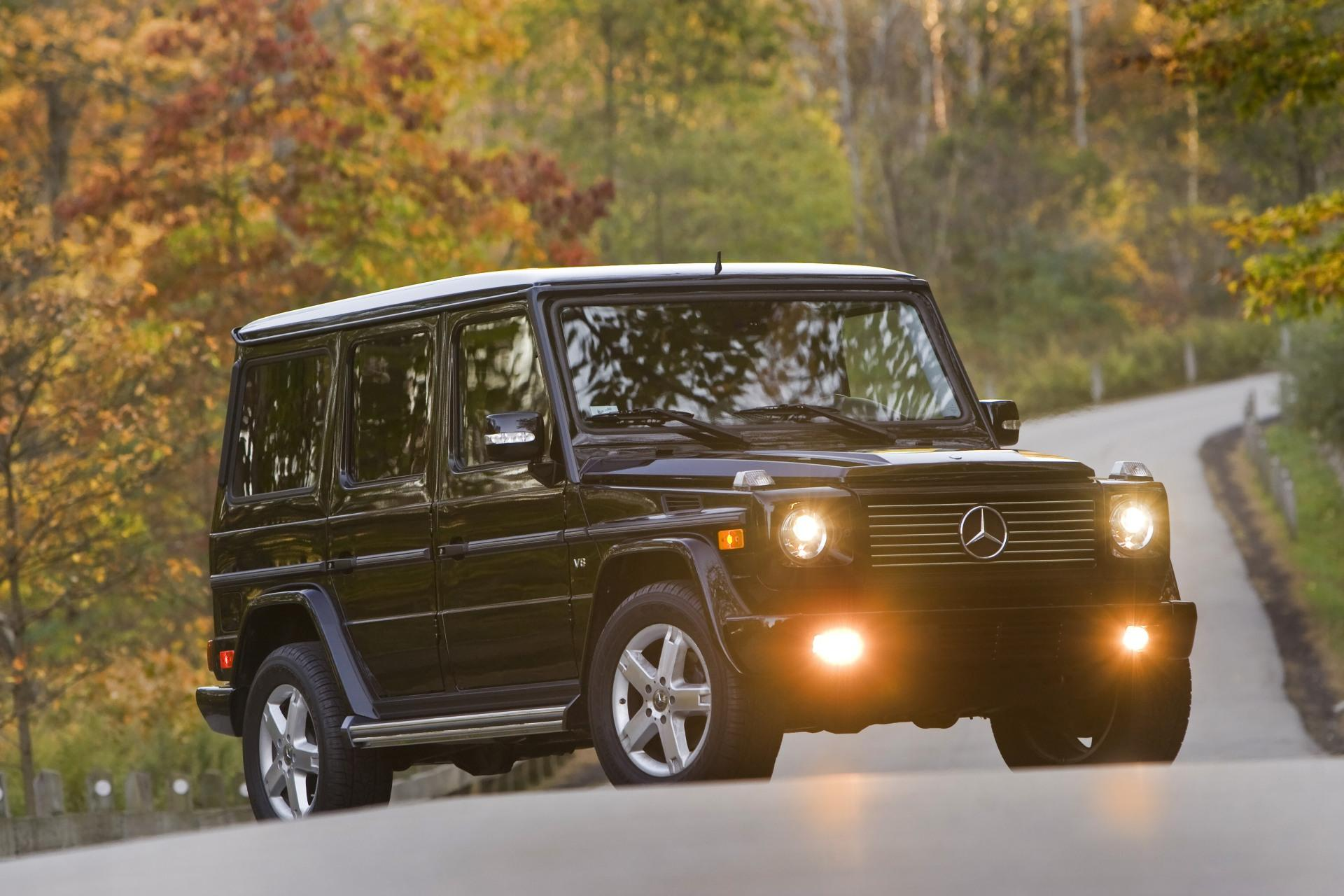 2009 mercedes benz g class for Mercedes benz jeep g class