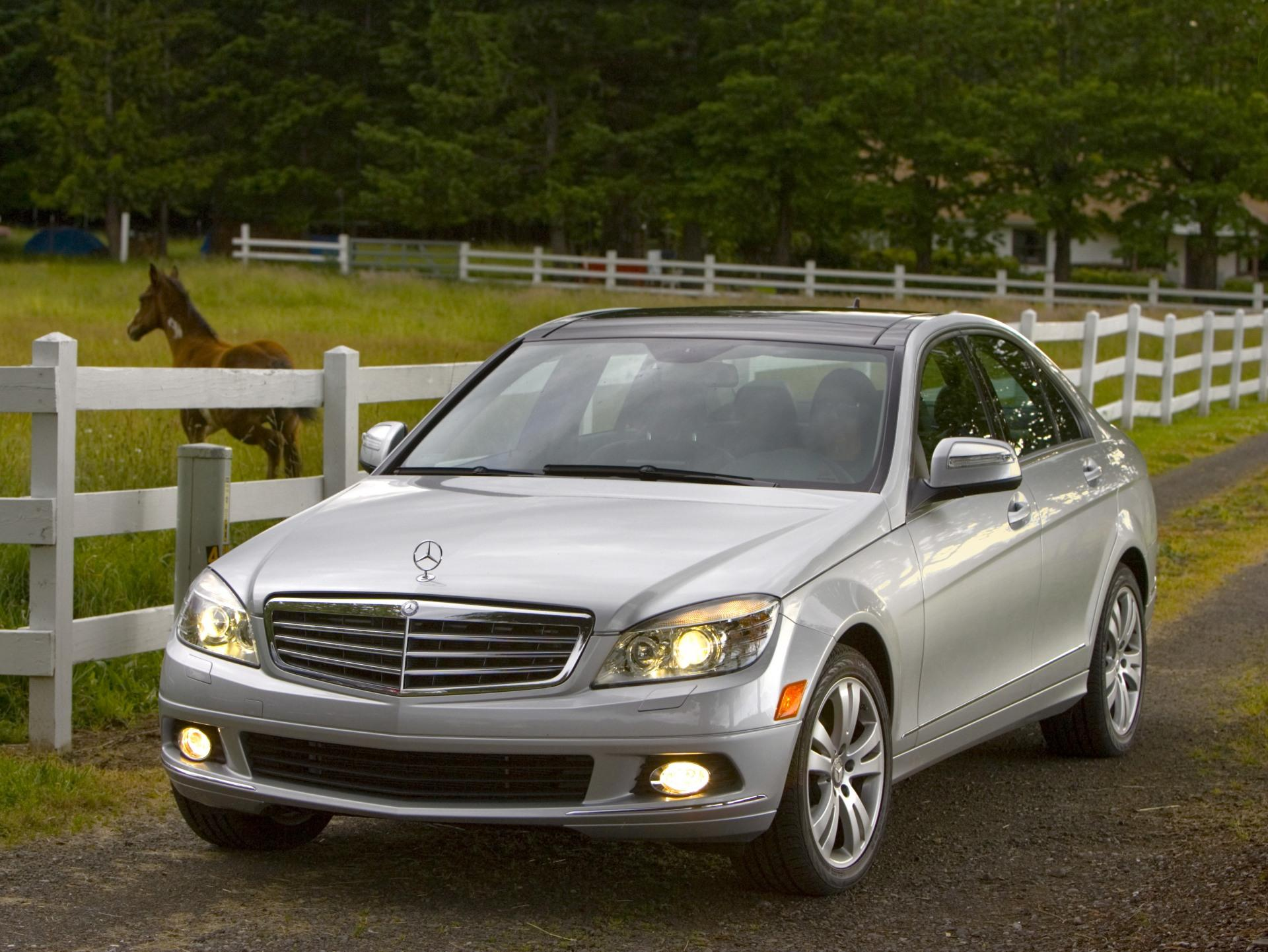 2009 mercedes benz c class for Mercedes benz c classes