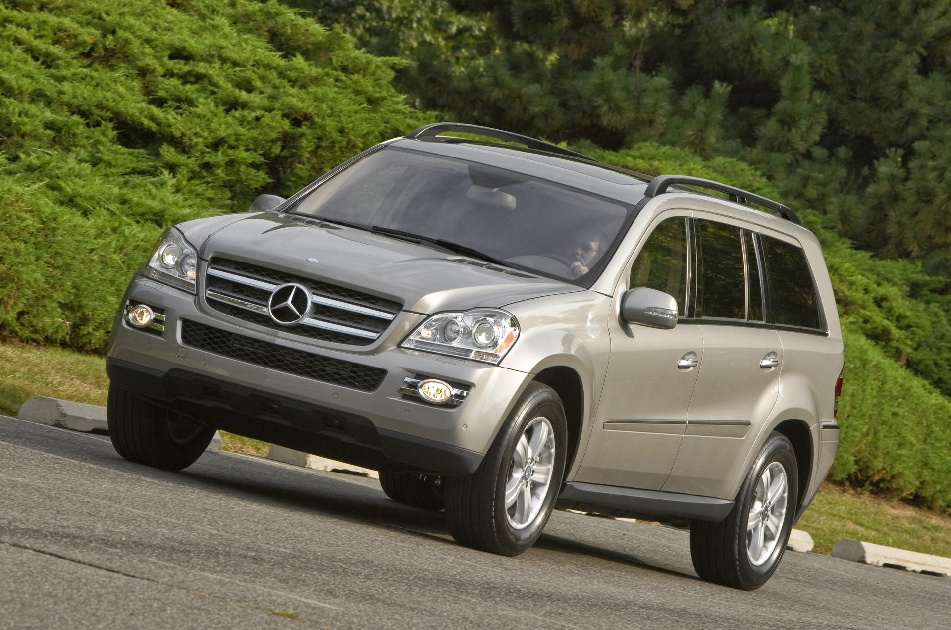 2008 mercedes benz gl class for Mercedes benz gl 2008