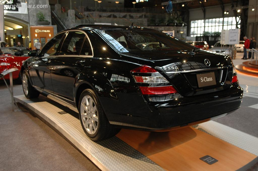 the gallery for mercedes s class 2006. Black Bedroom Furniture Sets. Home Design Ideas