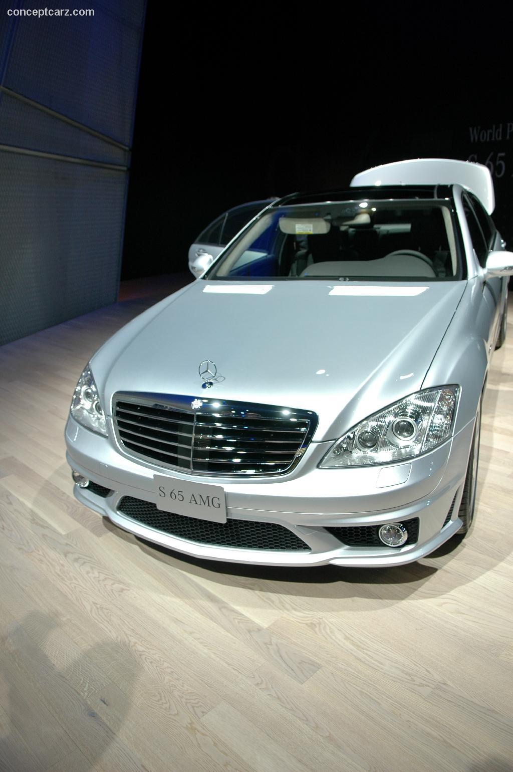 Auction results and data for 2006 mercedes benz s65 amg for Mercedes benz s65 amg