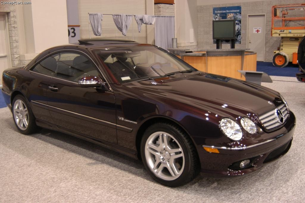 Auction results and data for 2004 mercedes benz cl class for 2004 mercedes benz cl class