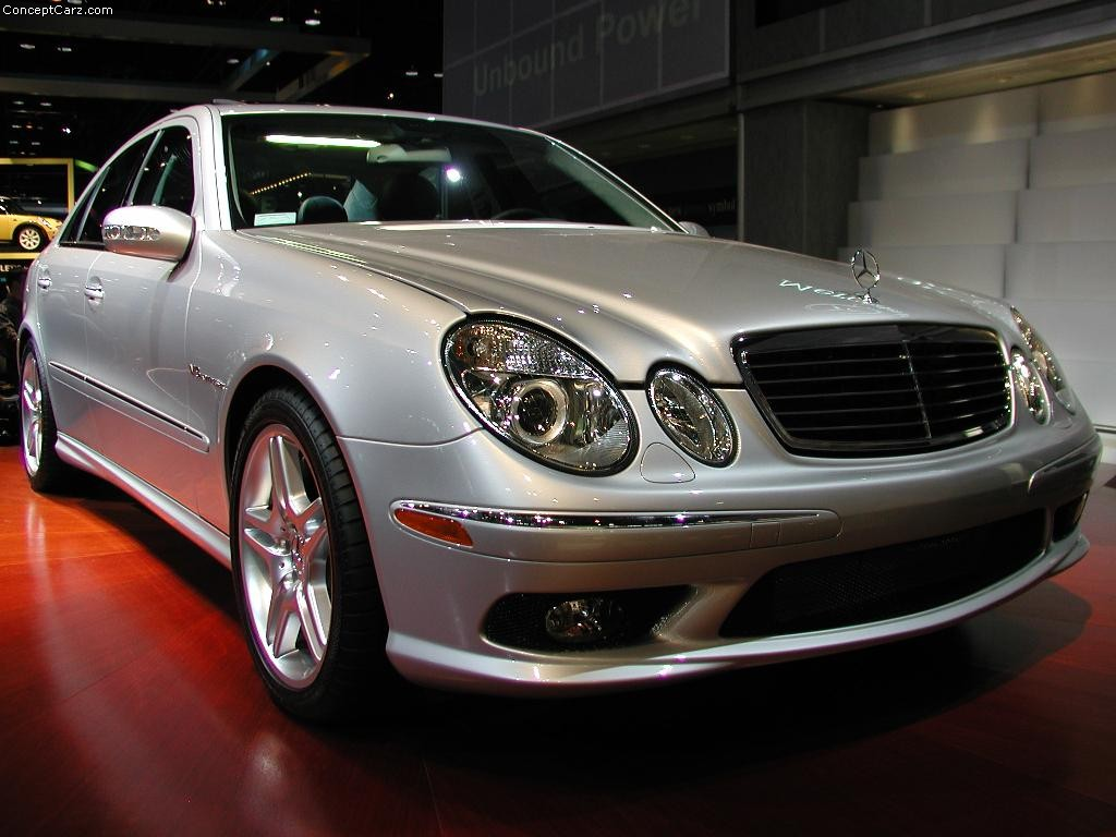 Auction results and data for 2003 mercedes benz e class for New e series mercedes benz