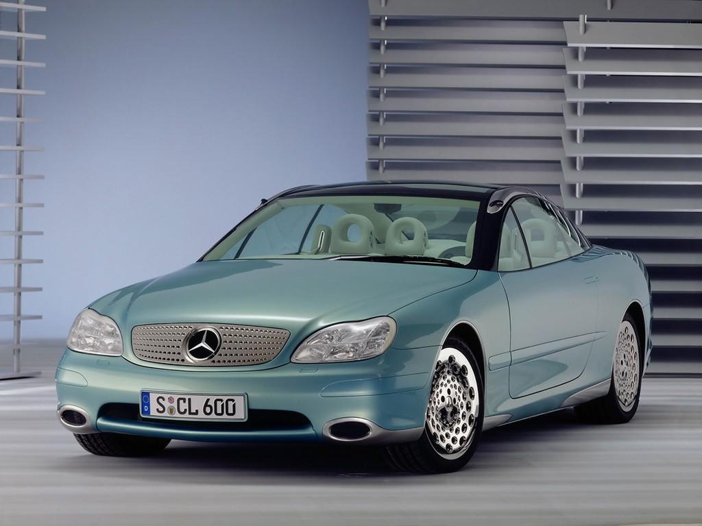 1996 mercedes benz f200 imagination concept for Mercedes benz vehicle