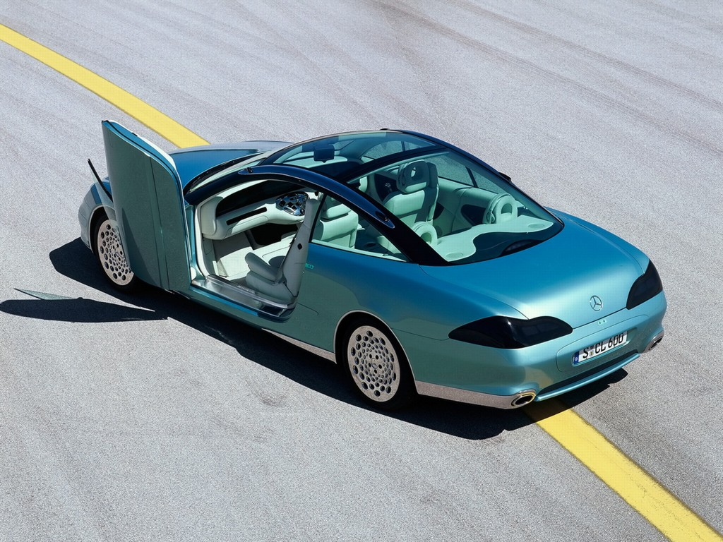 1996 mercedes benz f200 imagination concept for Mercedes benz future car