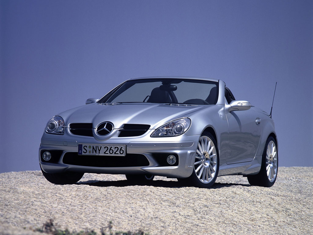 2005 mercedes benz slk 55 amg image. Black Bedroom Furniture Sets. Home Design Ideas