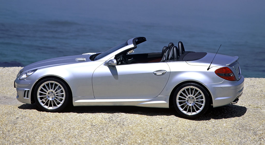 Auction results and data for 2005 mercedes benz slk 55 amg for Mercedes benz slk 55