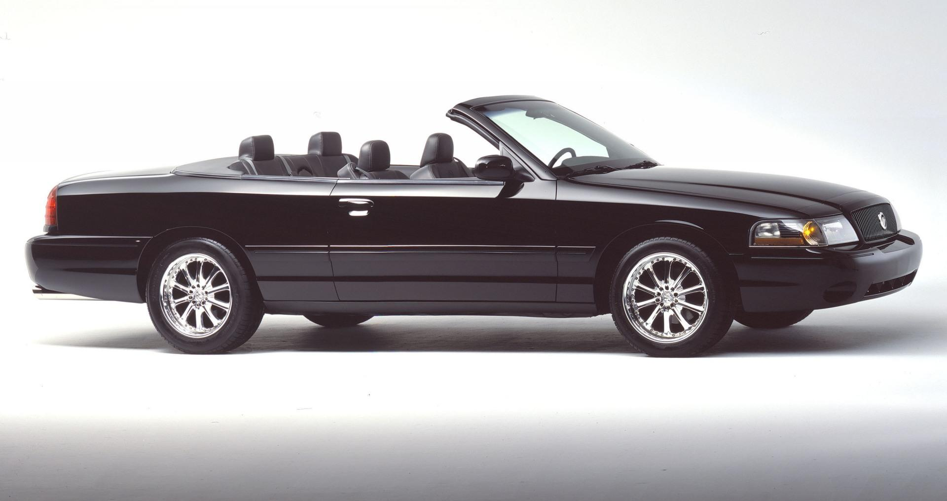 2003 mercury marauder convertible concept pictures history value research news. Black Bedroom Furniture Sets. Home Design Ideas