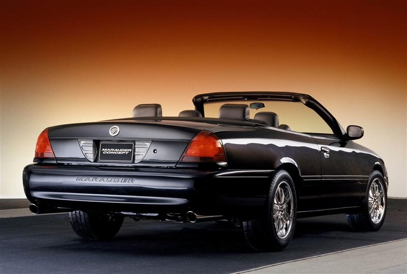 2003 mercury marauder convertible concept image. Black Bedroom Furniture Sets. Home Design Ideas