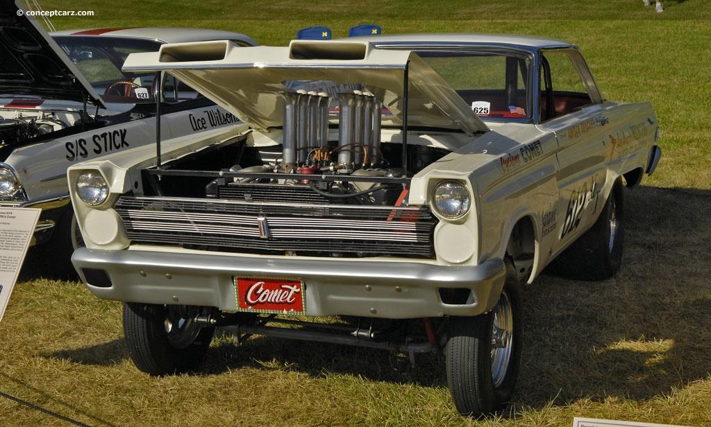 Gold Rush Drag Car
