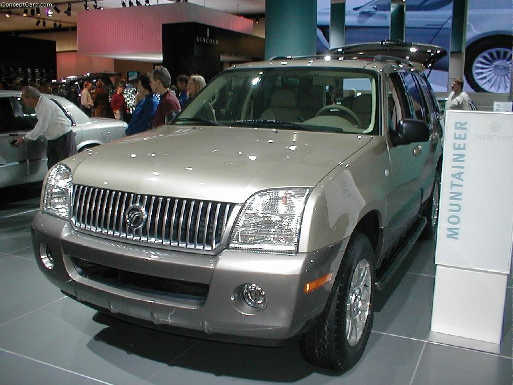 2003 mercury mountaineer pictures history value research news conceptcarz com