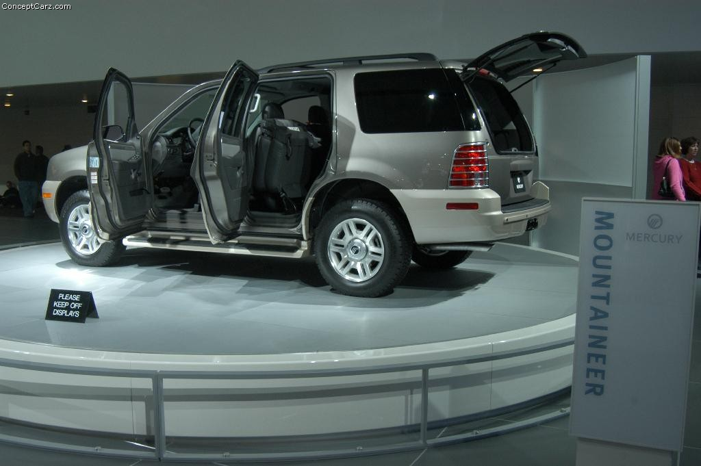 Auction Results And Data For 2004 Mercury Mountaineer