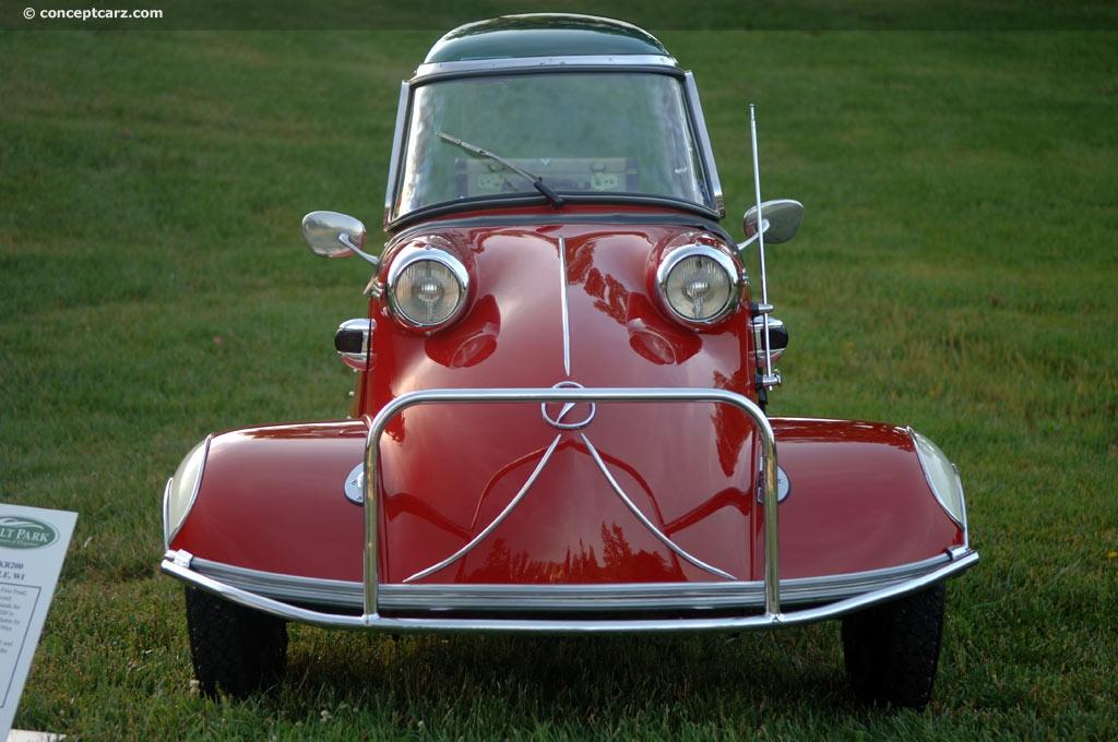 Sold Messerschmitt Kr200 3 Wheeler Microcar Auctions: 1955 Messerschmitt KR200