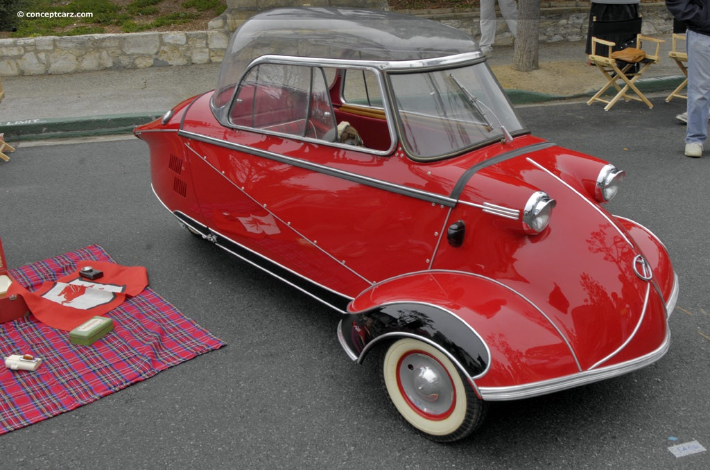 Sold Messerschmitt Kr200 3 Wheeler Microcar Auctions: 1956 Messerschmitt KR200 (Kabinenroller)